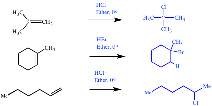 electrophile addition